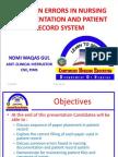 Common Errors in Nursing Documentation