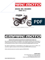 62961060 Keeway Owen 150 Manual de Despiece
