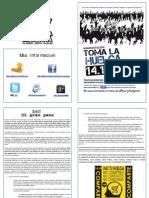 Asociación DRY - Panfleto HUELGA GENERAL - 13.11.2012