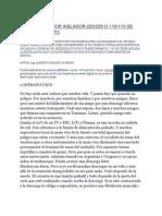 TRANSFORMADOR AISLADOR 220/220 O 110/110 DE 2,5KW SIN COSTO - Ing. Picerno