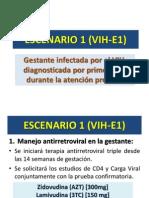 VIH ESCENARIOS