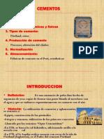 CONSTRUCCION - CEMENTOS