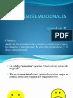 Procesos Emocionales
