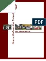 WMSU Annual Report 2009