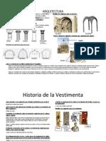 Arquitectura y Vestimenta de La Edad Media y Renacimiento