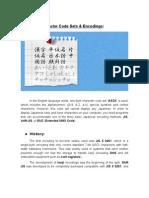 Japanese Encoding