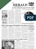 November 13, 2012 Issue