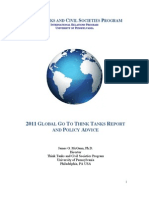 2011 Global Go to Think Tanks Report FINAL VERSION
