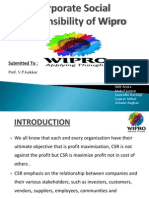 Corporate Social Responsibility of Wipro 120620153638 Phpapp02