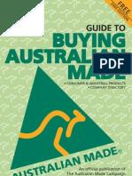 Buy Australian Made