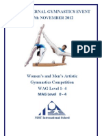 Nist Internal Gymnastics 2012