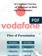 Vodafone Market Research