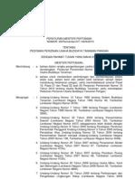 No 39 Thn 2010 Ttg Pedoman Perizinan Usaha Budidaya Tanaman Pangan
