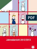 Jahresbericht 2012/2013 des Caritasverbands für die Diözese Osnabrück