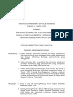 PP No 64 Tahun 2005 Ttg Perubahan Ke Empat Tt JAMSOSTEK