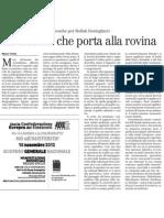 Limite Di Serge Latouche - Il Manifesto (13.11.2012)