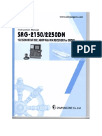 Instruction Manual for GMDSS SRG 2150 2250DN