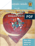 Danza Down. Revista Colegio Corazonistas. Junio 2003