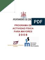Programa de actividad física para mayores_Córdoba