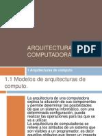 Arquitectura de Computadoras1