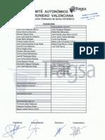 Acta Octubre Comite Autonomico