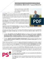 Profession de Foi Y. Williot -PS 57