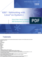 Networking With Linux on System z