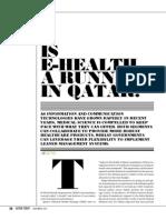 Is e-health a runner in Qatar