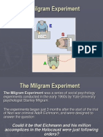 Milgram Experiment Good