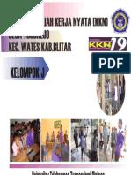 Laporan Kkn 19 Kel.j Unitri 2012