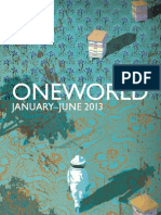 Oneworld Catalogue January-June 2013