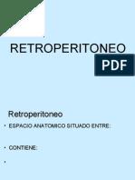Retroperitoneopara Alumnos Guia