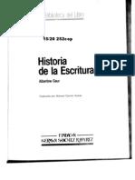Gaur Albertine - Historia de La Escritura