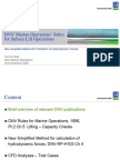 3 - DNV Rules for Marine Operations