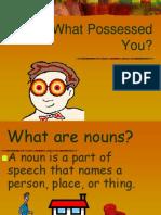 Ecture Possessive Forms Nouns