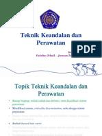 04-Teknik Keandalan Dan Pewaratan