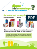 Campagne Tri Des Emballages - Flyer A5