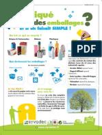 Campagne Tri Des Emballages - Affiche A5