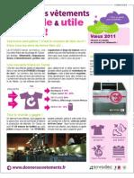 Campagne Filiere Textile - Publiredactionnel