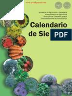 CALENDARIO DE SIEMBRA - MINISTERIO DE AGRICULTURA Y GANADERÍA - PARAGUAY - PORTALGUARANI
