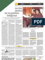 Avanza la protección de los conocimientos de los pueblos indígenas