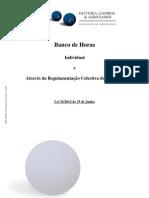 Nota Informativa - Banco de Horas