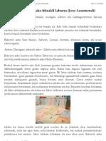 20121107_Lapiko Kritikoa » Dabilen elea sariketako hitzaldi laburra (Joxe Azurmendi)