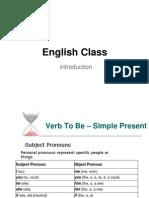 English Class 1