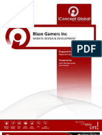 BlazeGamers Preliminary Proposal