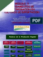 Fertirrigacion en Cultivos de Exportacion-Ing Arturo Acero