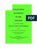 Cultivation of Science by the Muslims