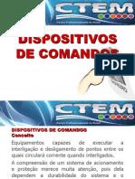 2º Capítulo - Dispositivos de comandos