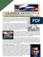 LNR 58 (Revista La Nueva Republica) Cuba CID 13 Noviembre 2012