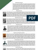 Biografia de Presidentes de Mexico